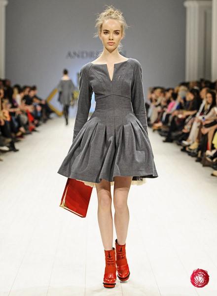 Модельер андре тан его платья